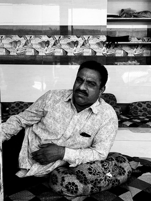 Portrait of a man, India. © Mohit Patel