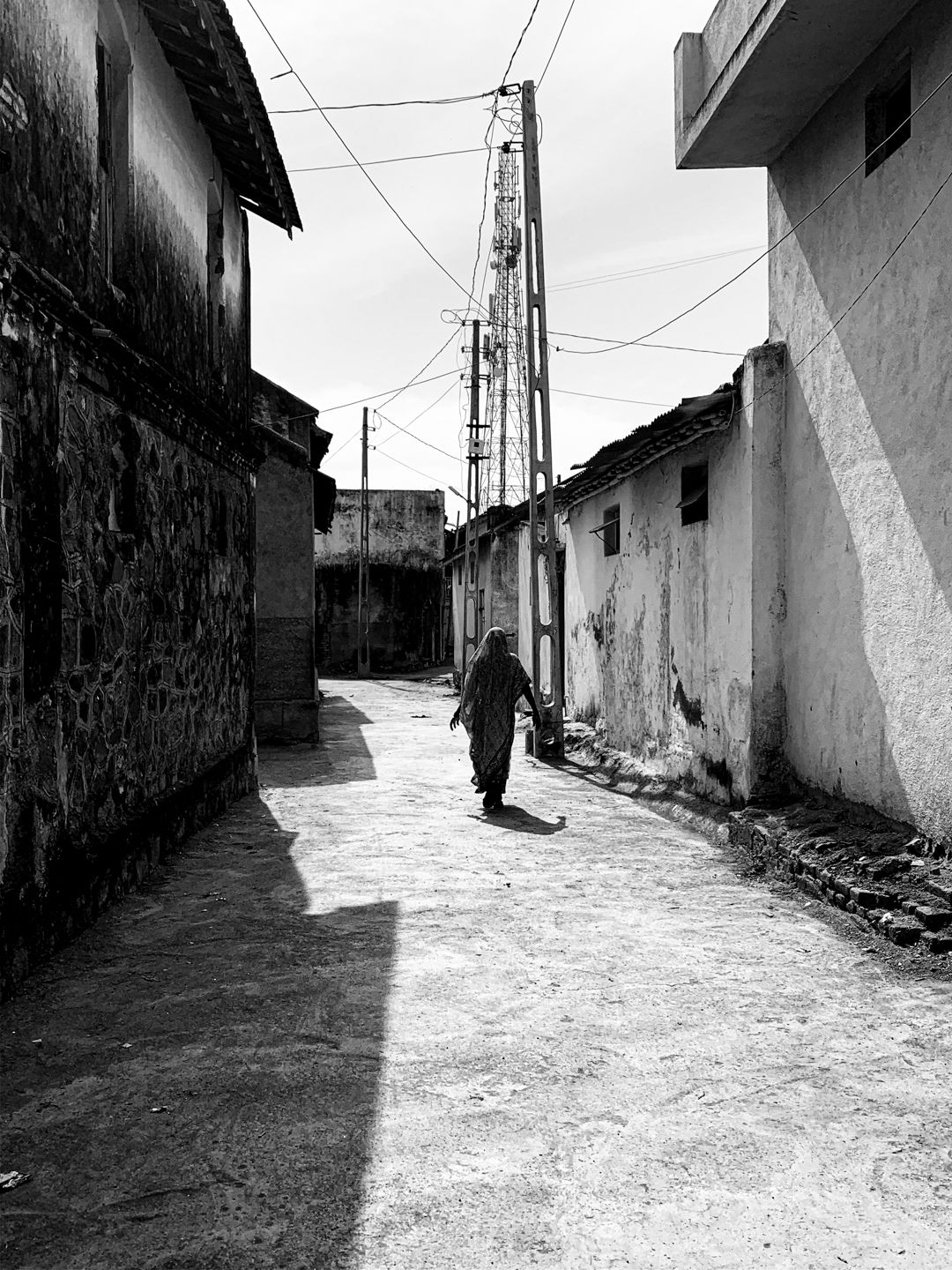 Streets, village, India. © Mohit Patel
