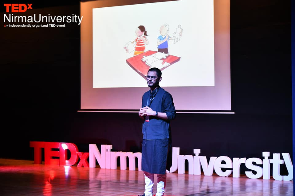 My TEDx Talk at Nirma University